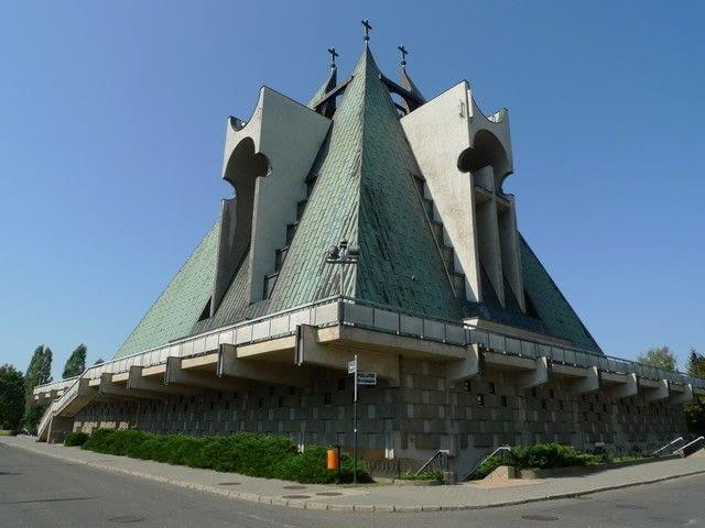 Kościół św. Jana Bosko w Poznaniu (ul. Warzywna), fot. Anna Cymer