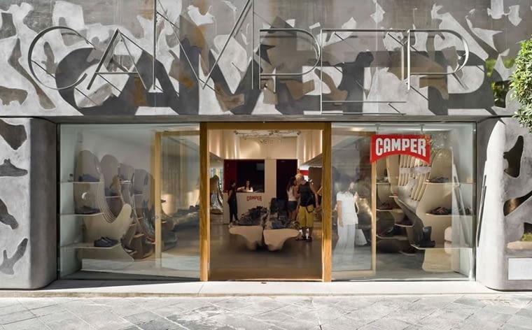 WAF, galeria handlowa, barcelona, nagroda, konkurs, sklep, Miralles Tagliabue Embt