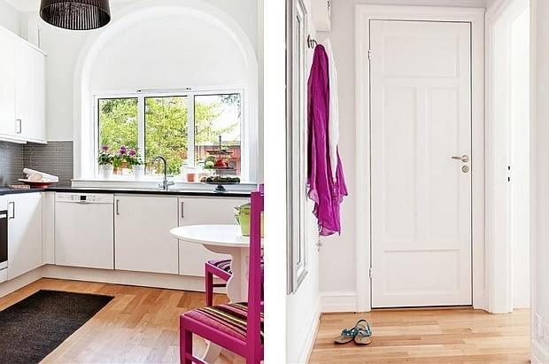 małe mieszkanie, jasne mieszkanie, jak urządzić małe mieszkanie, mieszkanie w orientalnym stylu