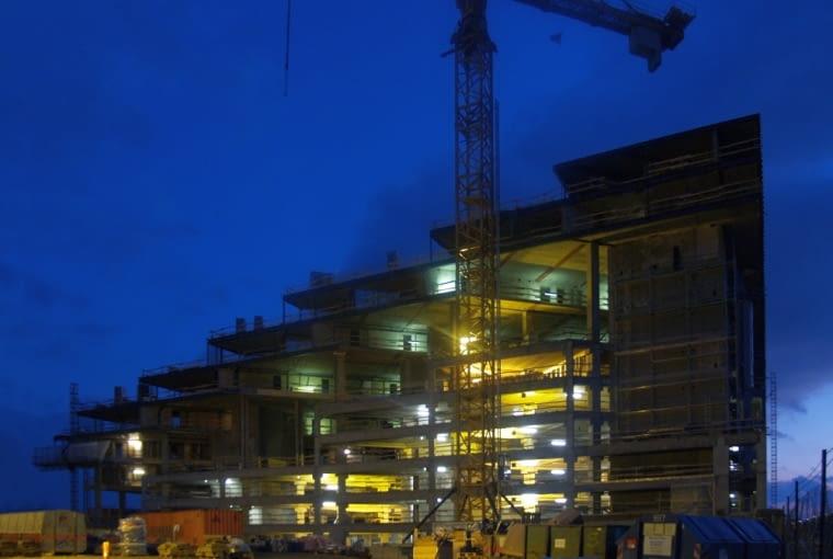 Bjerget - mieszkania na himalajskich szczytach w Kopenhadze - budynek powstał w latach 2007 - 2008