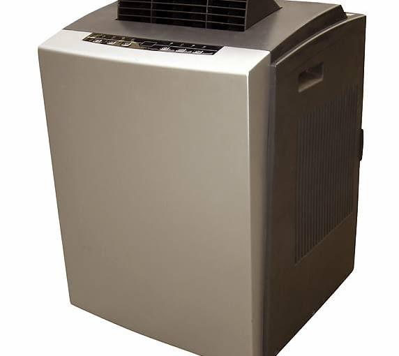 Klimatyzator przenośny AM-09C53CDI <Br>Do pomieszczeń o pow. do 16 m2. Sterowany ręcznie lub na pilota. Moc: 2,5 kW, głośność: 52 dB, Cena: 469 zł