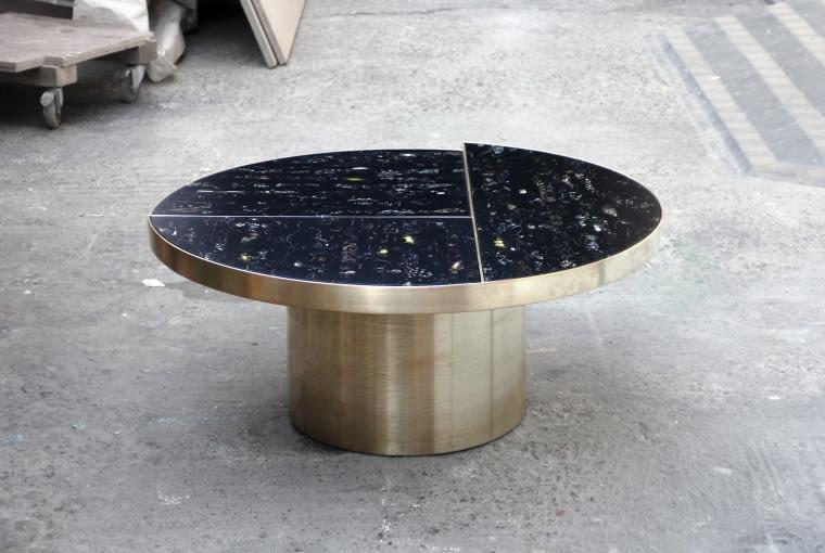 Stół z kolekcji Flora Noir, Marcin Rusak