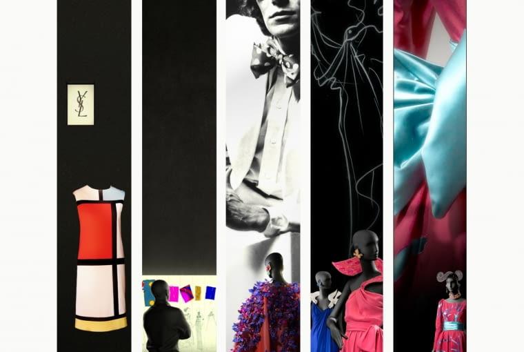 Scenografia w Muzeum Yves Saint Laurenta