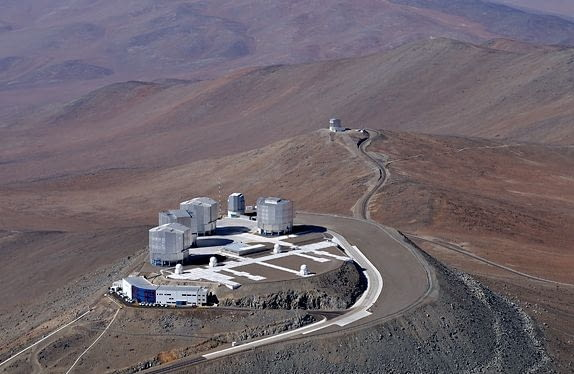 ESO - European Organisation for Astronomical Research in the Southern Hemisphere