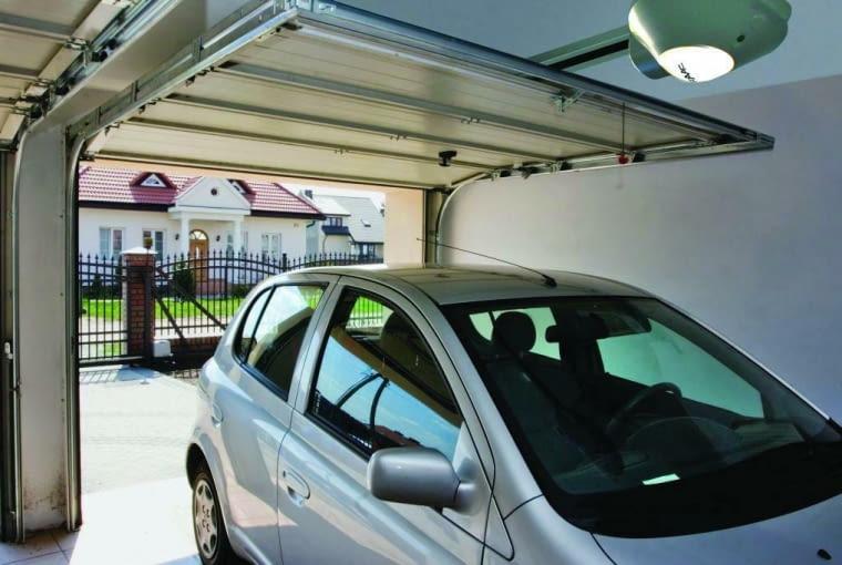 brama garażowa, napęd