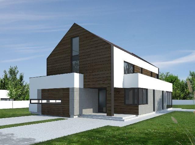 projekt domu, dom jednorodzinny