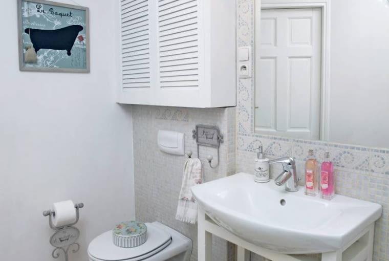 łazienka, aranżacja łazienki, białe wnętrza