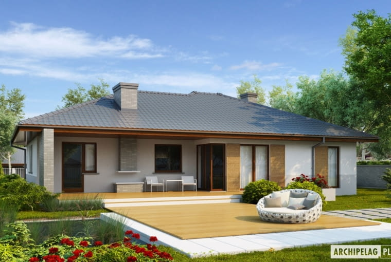 Projekt domu Lucjan G1 LECA