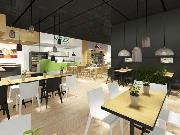Wnętrze restauracji, której otwarcie planuje HDS Polska.