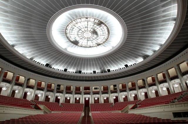 Socrealizm - architektura socrealistyczna - Sala Kongresowa w Warszawie
