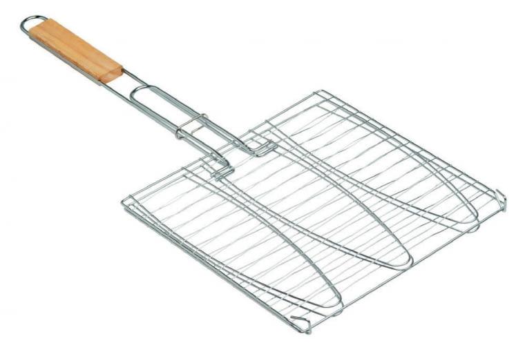 Ruszt do ryb/LEROY MERLIN Ułatwia pieczenie ryb; dł. 60 cm. Cena: 13,90 zł, www.leroymerlin.pl
