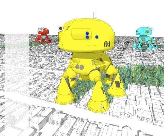 Andrew Maynard Architects, robot, architetkura
