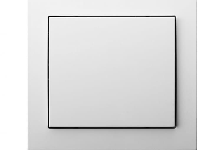 NIŻSZA CENA B.Kwadrat/Berker; łącznik pojedynczy, tworzywo białe z połyskiem Cena: ok. 23 zł