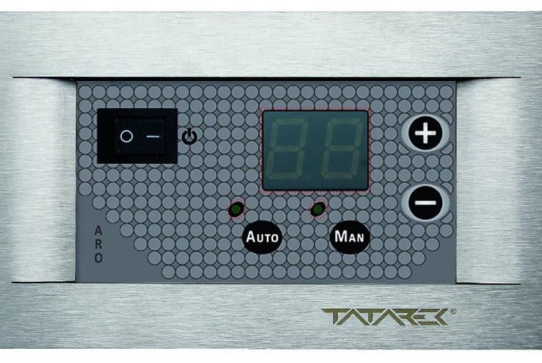 Mikroprocesorowy regulator steruje przepływem ciepłego powietrza