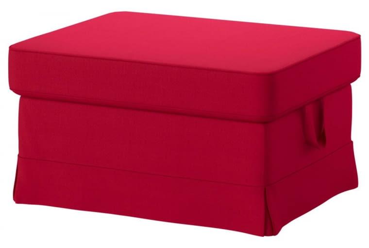 W stylu tego wnętrza: pufF EKTORP, ze schowkiem, 82 x 62 cm, 349 zł, IKEA