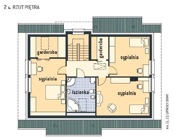 plany domu,rzuty domu