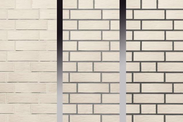 Kształtując wygląd ceglanej elewacji, najpierw dobieramy cegły - ich barwy, struktury, a także wiązanie. Kolorem i typem spoiny można osiągnięty efekt wzmocnić lub złagodzić.
