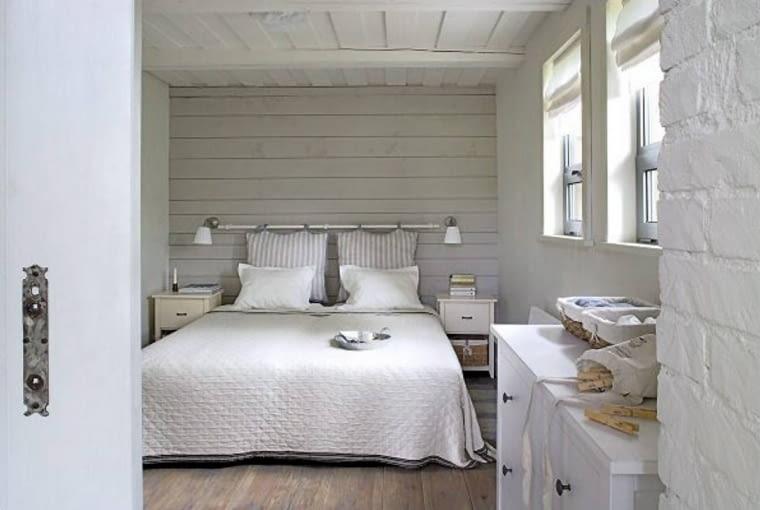 dom jednorodzinny,dom,dom na wakacje,wnętrza,sypialnia,łóżko