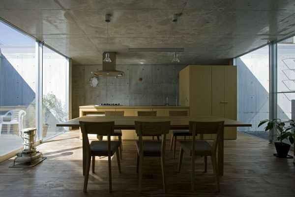 ornament, japońska architektura, eastern design office, fasada, dom jednorodzinny
