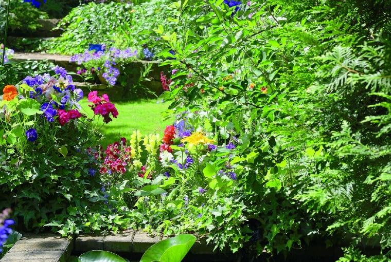 Odrobina wody ożywia ogród i poprawia jego mikroklimat.