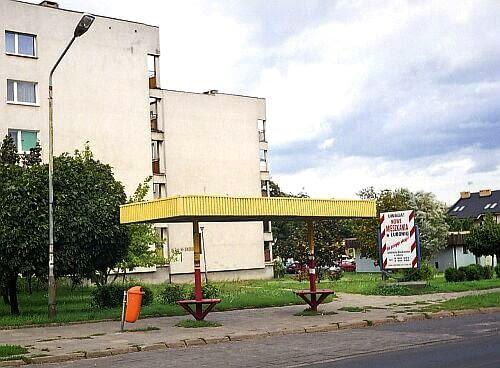 mała architektura, mała bryła, przystanek, polska, wrocław, warszawa, kraków