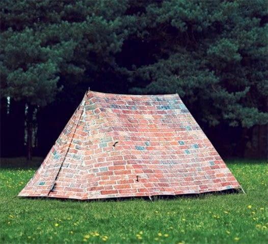 Unikatowe namioty firmy Fieldcandy.