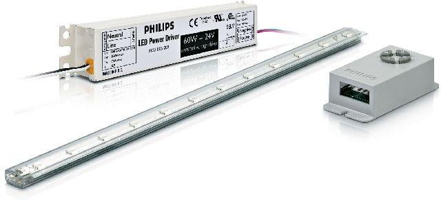 LED Strip Kit PHILIPS, zestaw: listwa LED, sterownik, zasilacz; 7 barw światła, cena: 320 zł