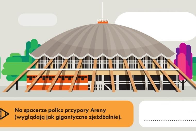 Hala widowiskowo-sportowa Arena w Poznaniu, projekt architektoniczny Jerzy Turzeniecki