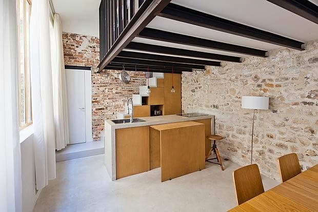 małe mieszkanie, mieszkanie, nowoczesne mieszkanie, mieszkanie z antersolą, aranżacje