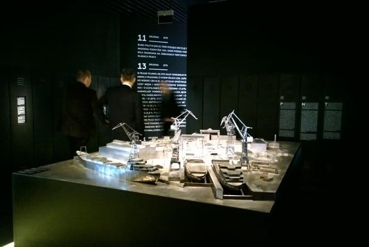 Ekspozycja w Centrum Dialogu Przełomy w Szczecinie