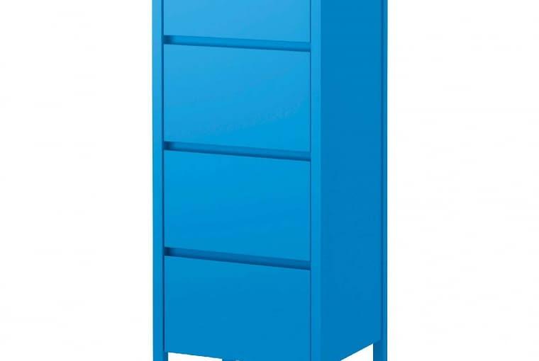 Komoda NORDLI, drewno i płyta meblowa, wys. 125 cm, 599 zł, IKEA