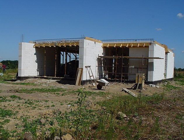 dom jednorodzinny, budowa domu