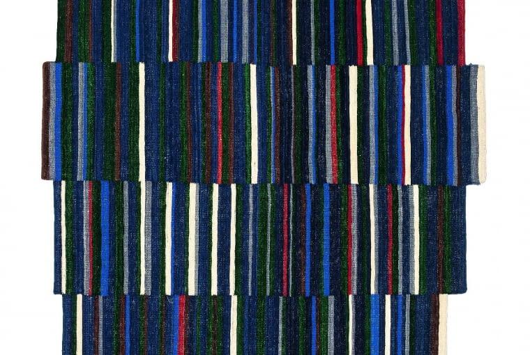 Forma schodkowa. Dywan o nietypowym kształcie, Lattice, proj. Ronan & Erwan Bouroullec, nanimarquina.com