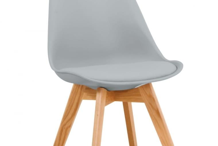W stylu tego wnętrza: Krzesło, drewno dębowe i ekoskóra, 249 zł, Signal