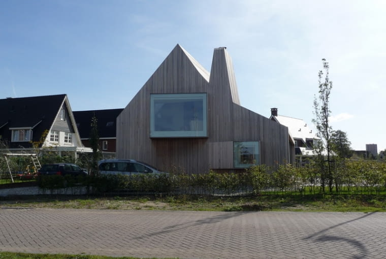 House Bierings, Rocha-Tombal Architekten, holandia, dom jednorodzinny,