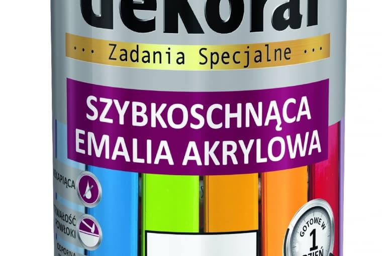 Emalia szybkoschnąca, akrylowa 24,30 zł Dekoral