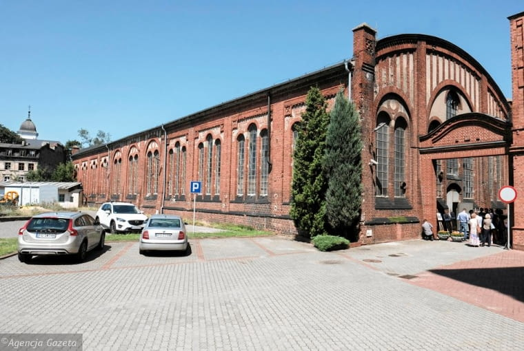 Hala Filtrów w Poznaniu - stan obecny