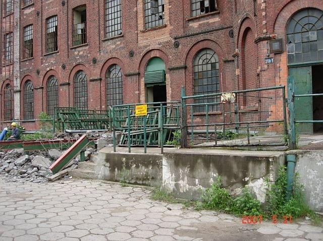 Lofty u Scheiblera w Łodzi