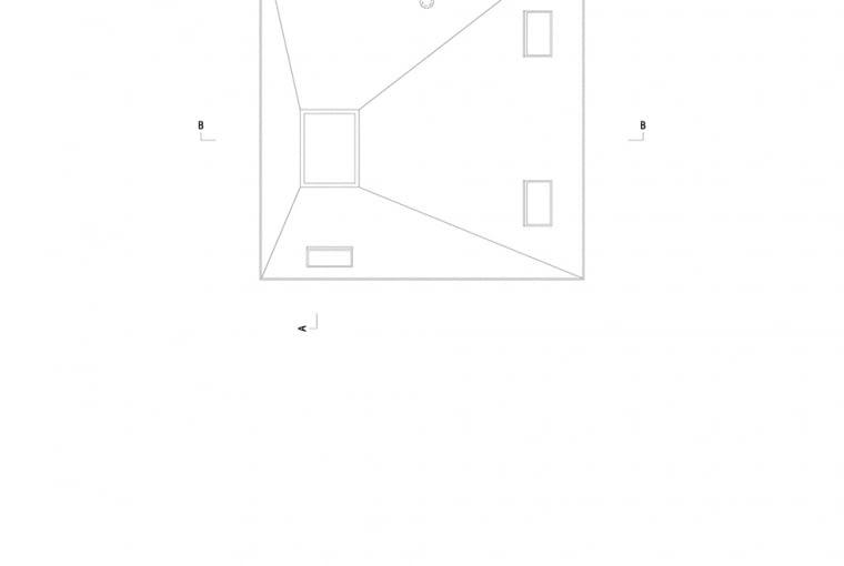 Dom w Lublińcu 2 - rysunek