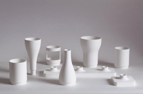 Combinatory vases; projekt: bracia Bouroullec dla Cappellini