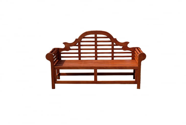 MARLBORO, ławka, drewno, dł. 180 cm 899 zł Beliani