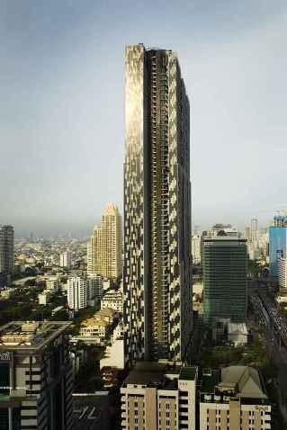 azja, waf, mieszkaniówka, zielona architektura, wieżowiec, bangkok