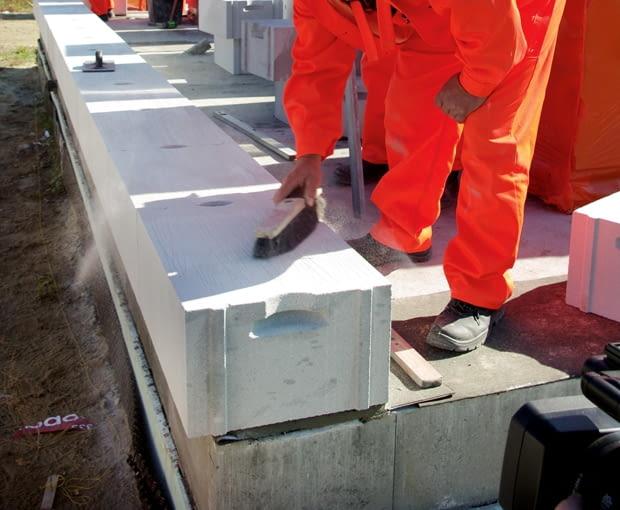 materiały budowlane, ściany jednowarstwowe, beton komórkowy, bloczki betonowe