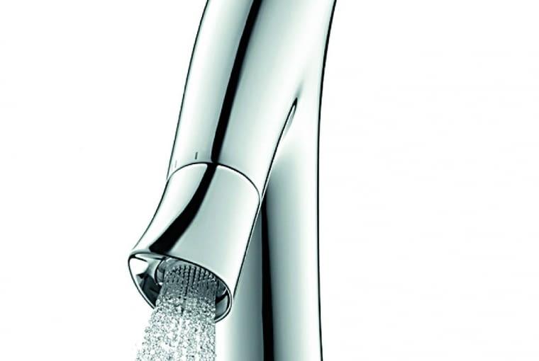 Design oszczędza: Kolekcja łazienkowa autorstwa wybitnego projektanta Philippe'a Starcka. Wyjątkowy design i w dodatku szczególnie niskie zużycie wody, Axor Starck Organic, 1742 zł, Hansgrohe, hansgrohe.pl