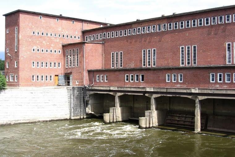 Elektrownia Wodna we Wrocławiu, projekt: Max Berg, Ludwig Moshamer, rok budowy 1924, wrocławski modernizm