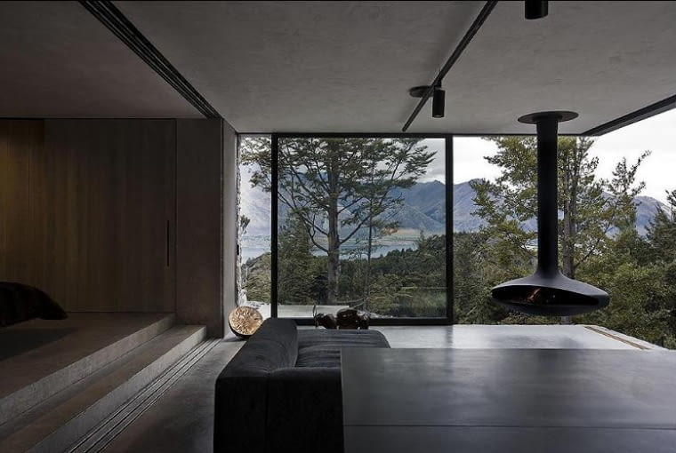 Mountain Retreat - Fearon Hay Architects - Nowa Zelandia