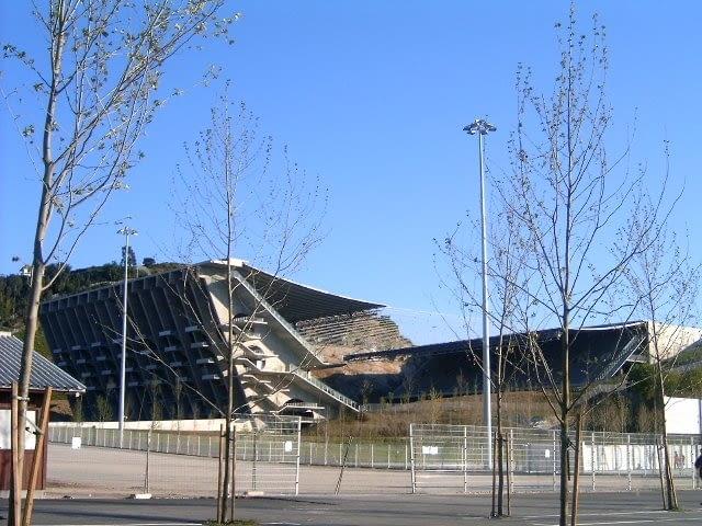 Stadion miejski, Braga, Portugalia, 2003, proj. Eduardo Souto de Moura
