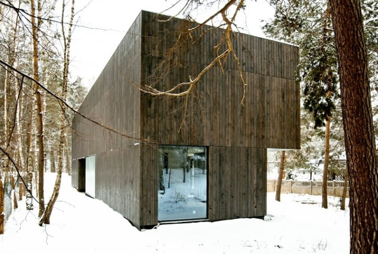 Dom Tetris w małopolskim Bukownie