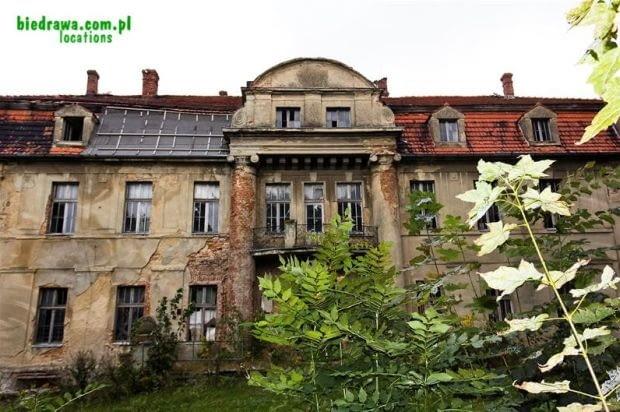 XIX-wieczny, neoklasycystyczny pałac z oranżerią i 2,5-hektarowym ogrodem oddalony o 25 km od Kędzierzyna-Koźla