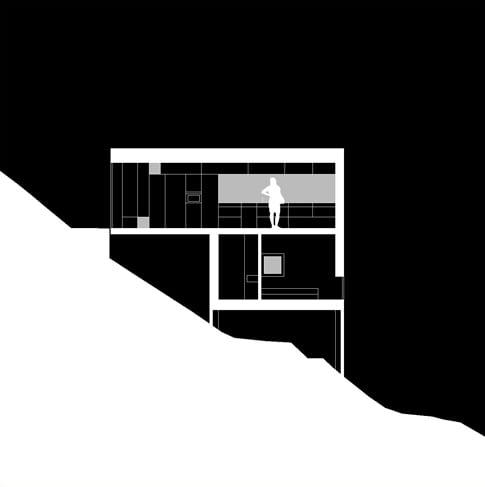 Dom w Caviano. Projekt: Wespi de Meuron